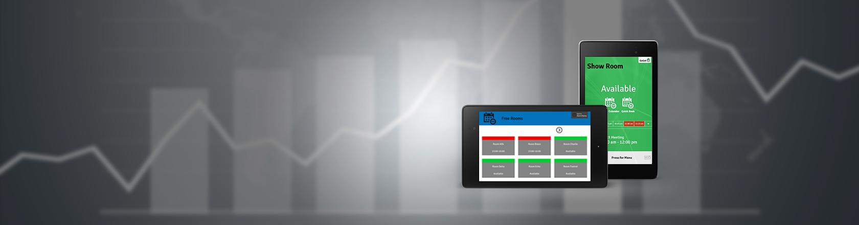 Room Display 5 | Android app for Room Bookings | GoGet