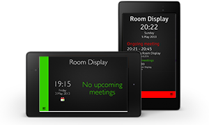 Android device with meeting room software